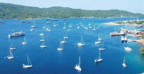Suasana Bunaken Sail...